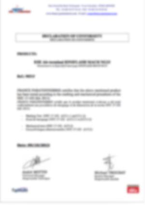 af-Declaration marquage et tests mecaniques MachNG15