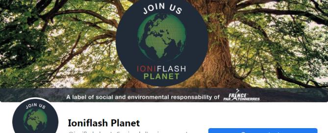 Ioniflash Planet Facebook page