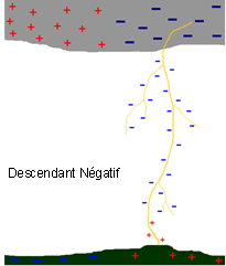 Descendant Négatif