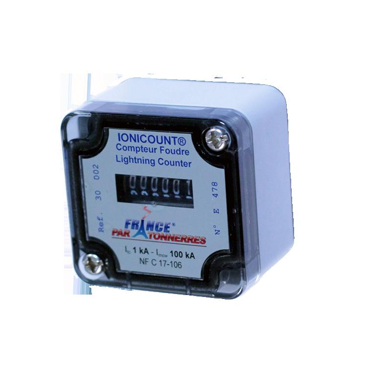 COMPTEUR IONICOUNT Compteur d'Impacts Foudre électromécanique