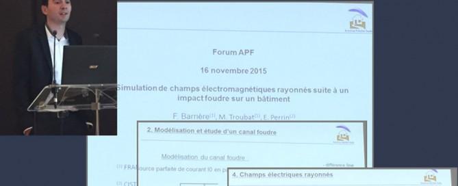 CONFÉRENCE APF PARIS 16 NOVEMBRE 2015