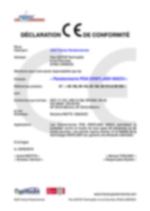 Certifcat CE PDA Ioniflash mach