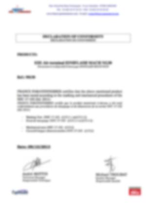 af-Declaration marquage et tests mecaniques - MachNG30