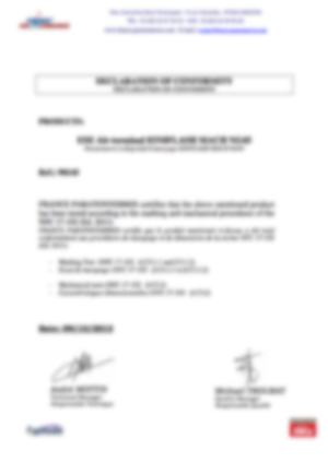 af-Declaration marquage - tests mecaniques - MachNG45