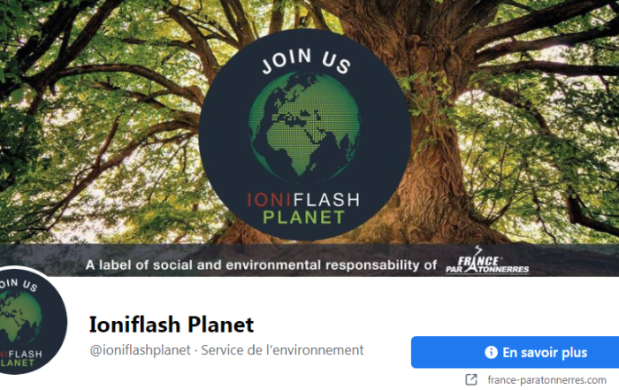 Ioniflash Planet Facebook