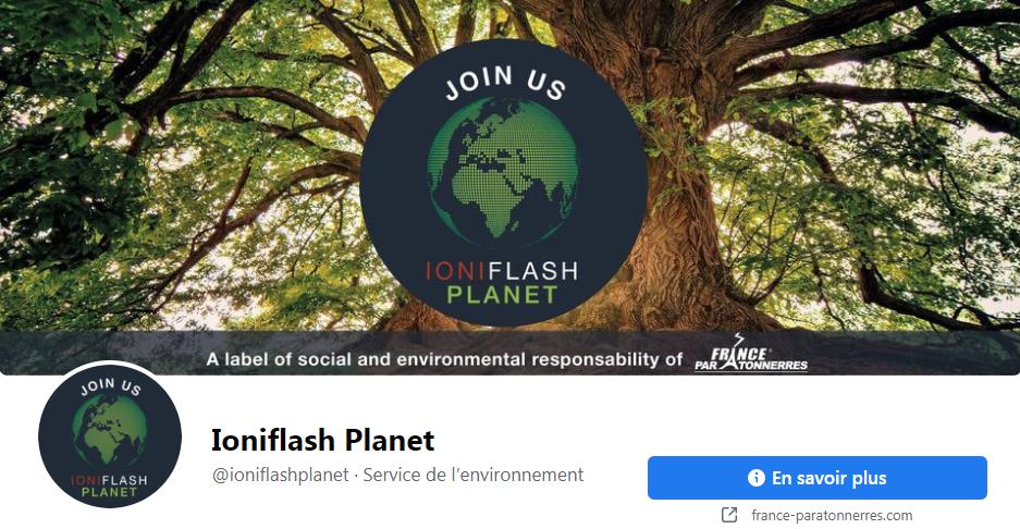 Rejoignez notre réseau IONIFLASH PLANET !